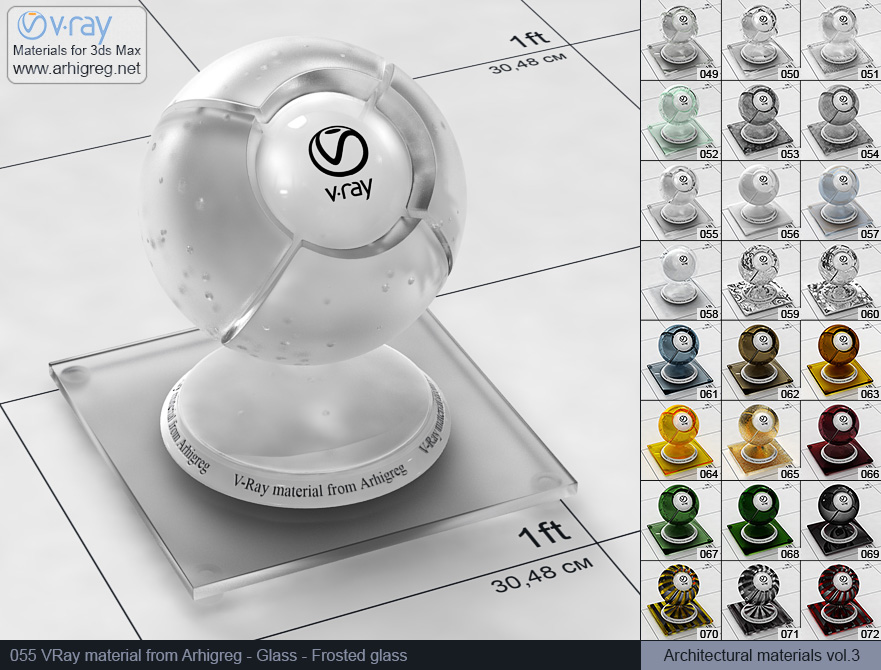 how to fix material sizes on vray