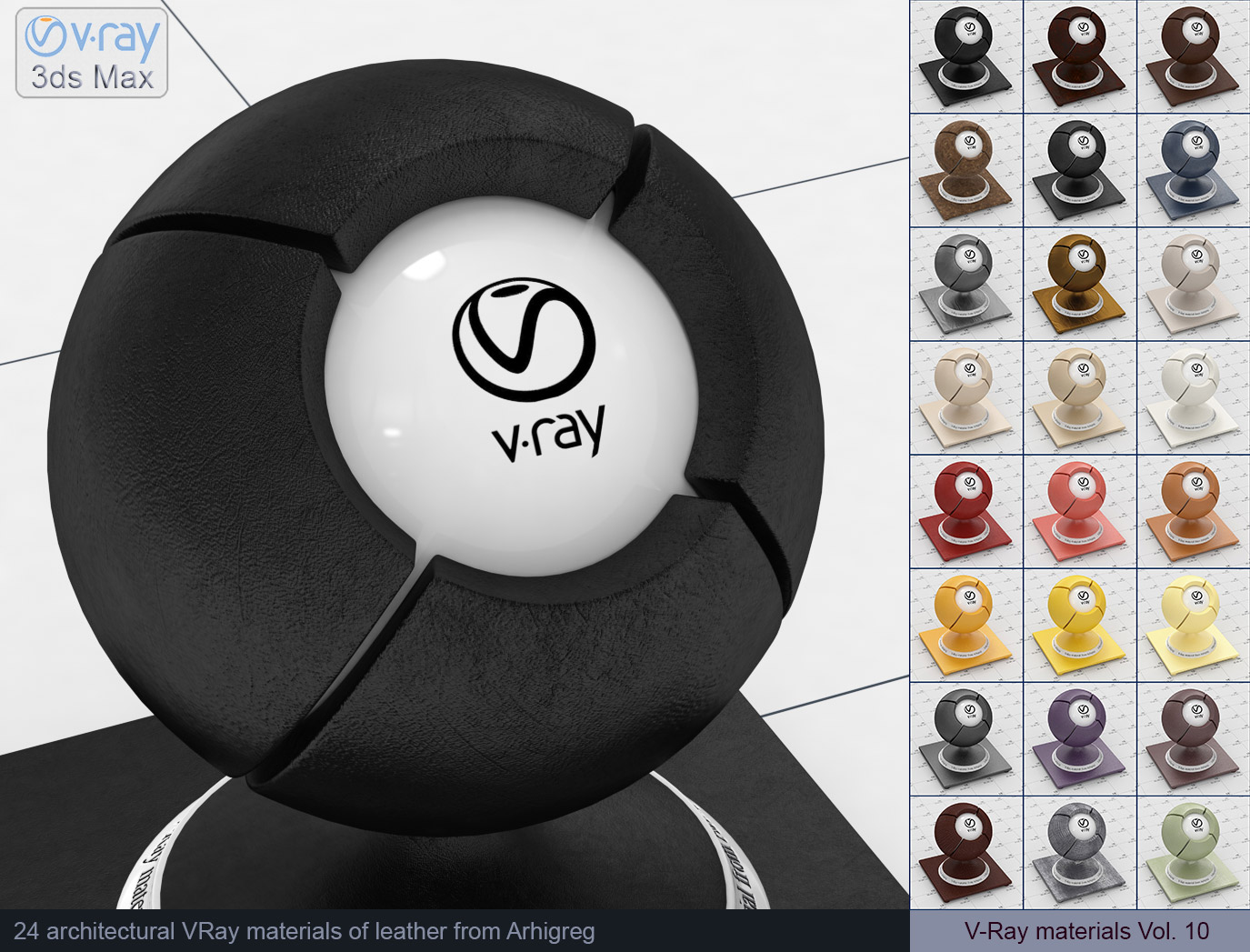 Vray Materials Leather