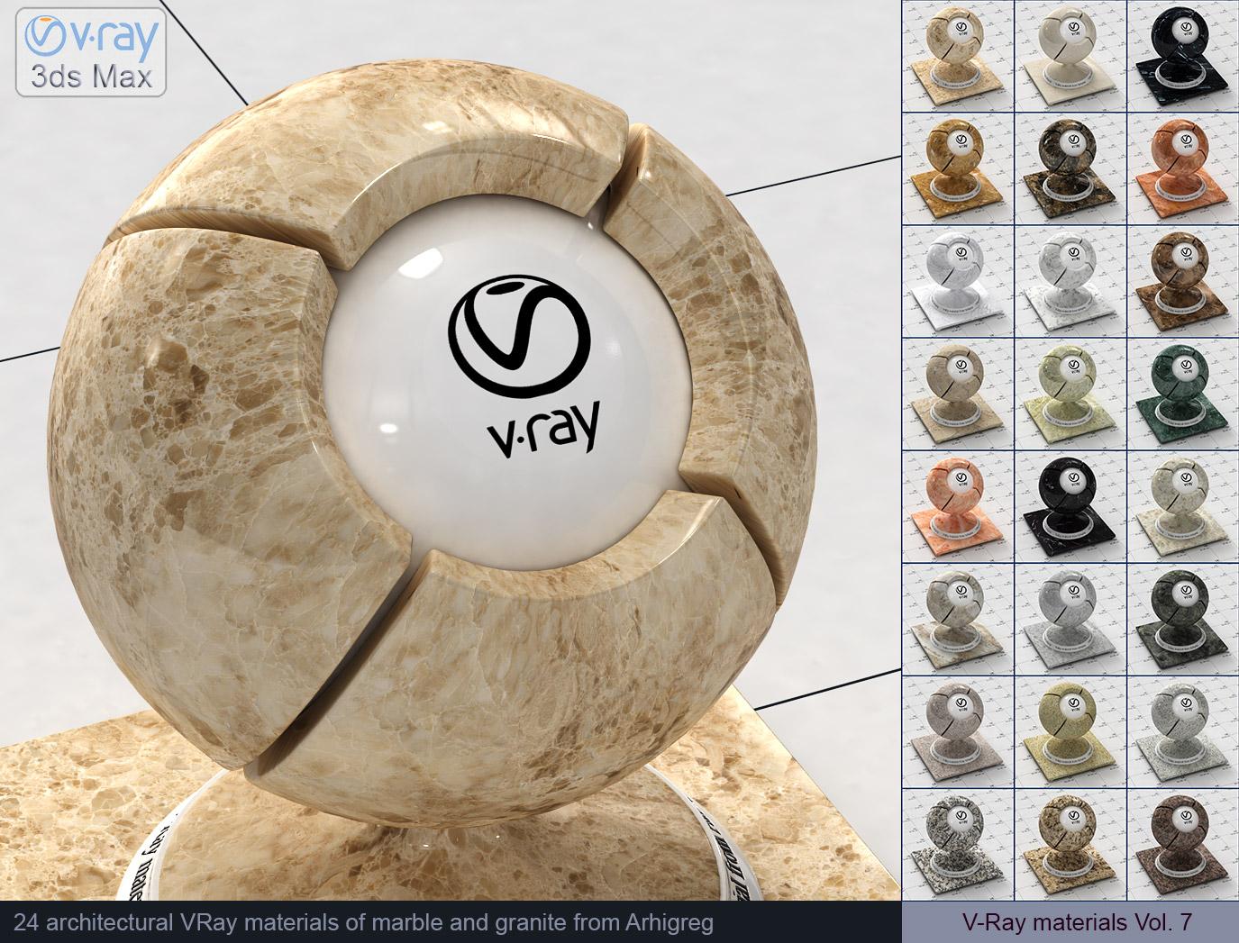 Vray Materials Marble V Ray Materials Granite