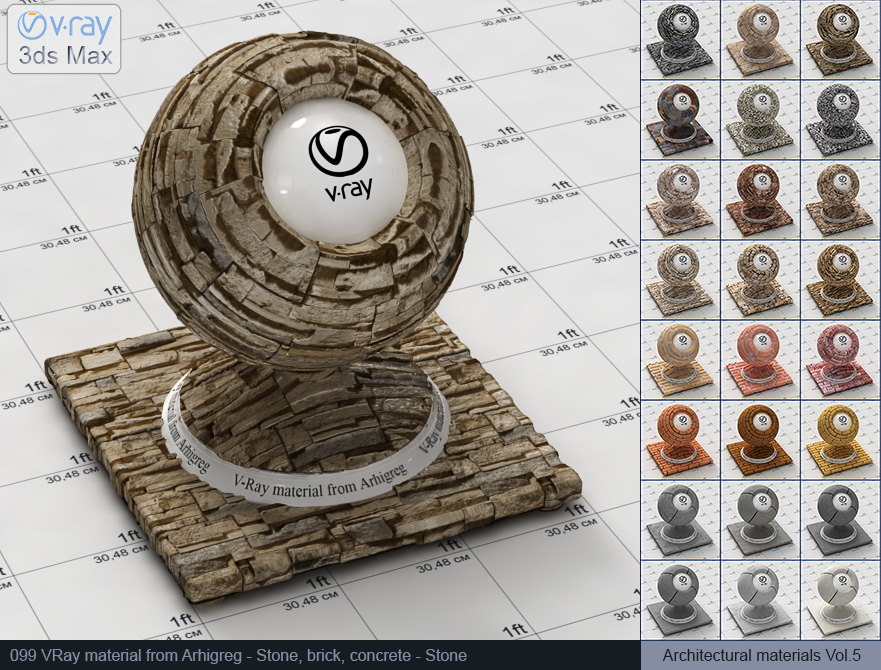 Vray stone material free download (099)