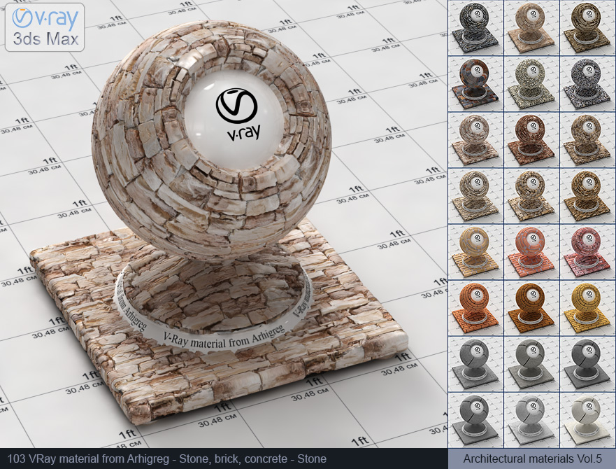 Vray stone material free download (103)