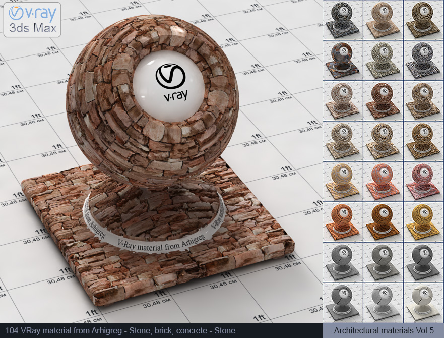 Vray stone material free download (104)