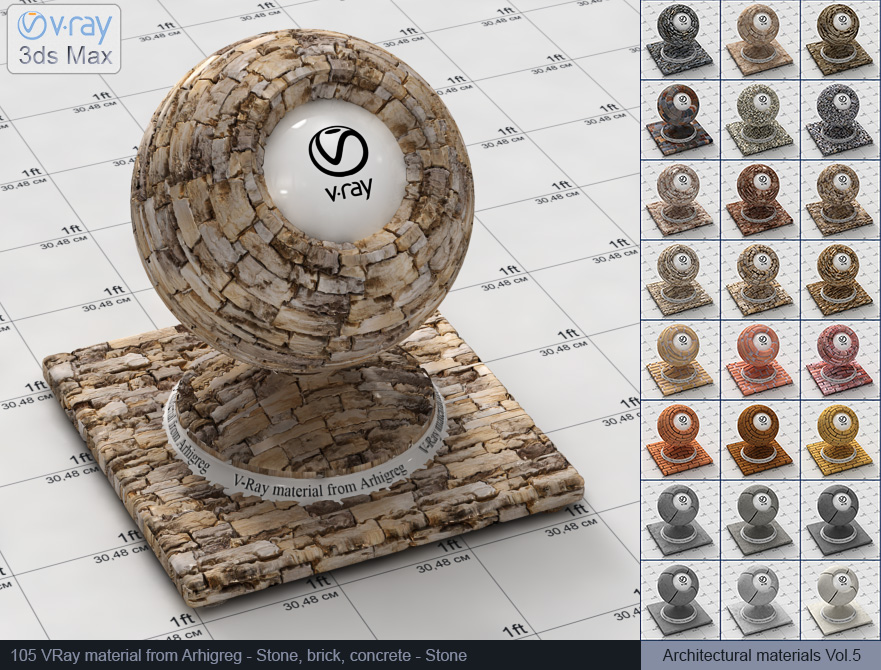 Vray stone material free download (105)