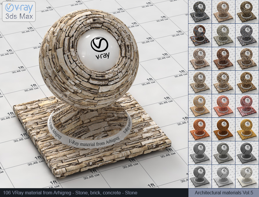 Vray stone material free download (106)