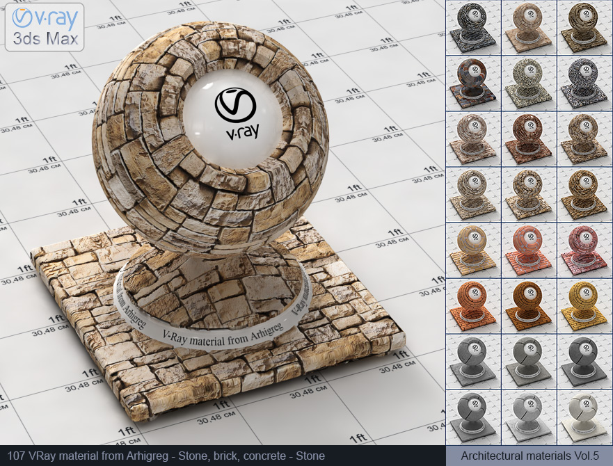 Vray stone material free download (107)