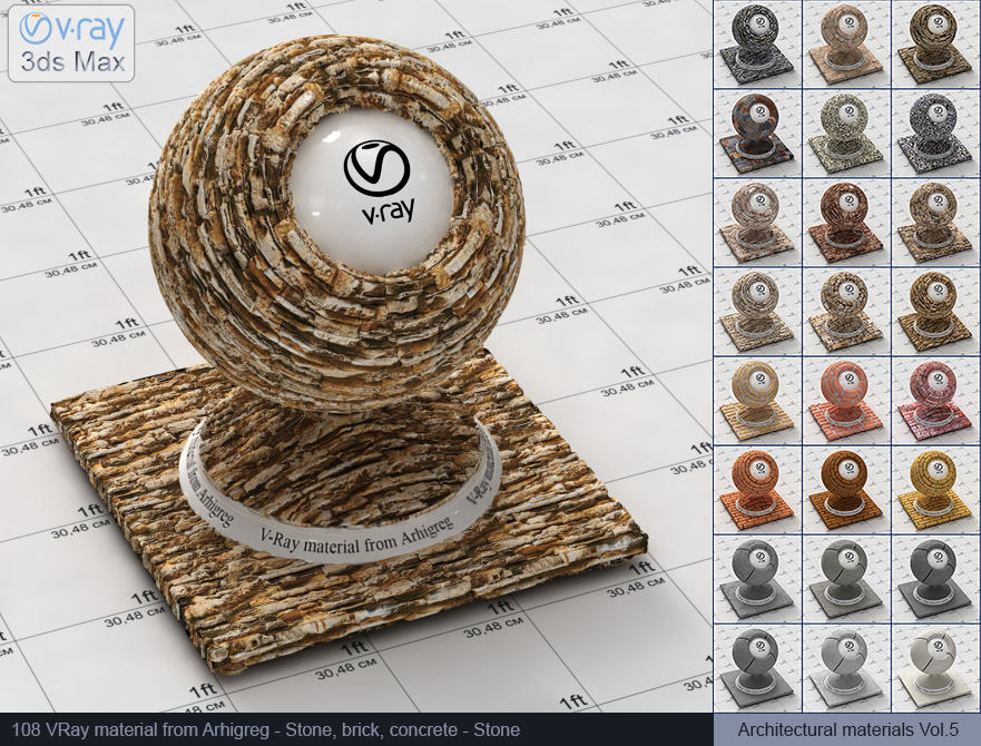 Vray stone material free download (108)