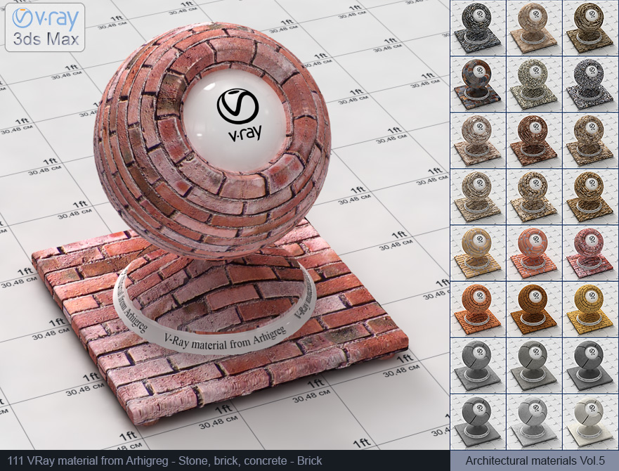 Vray brick material free download (111)