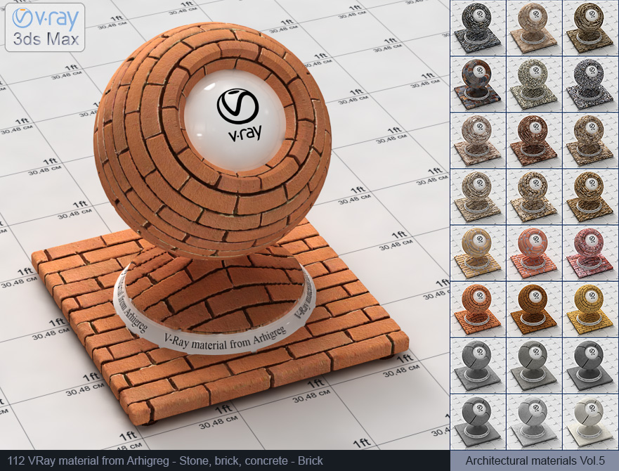 Vray brick material free download (112)