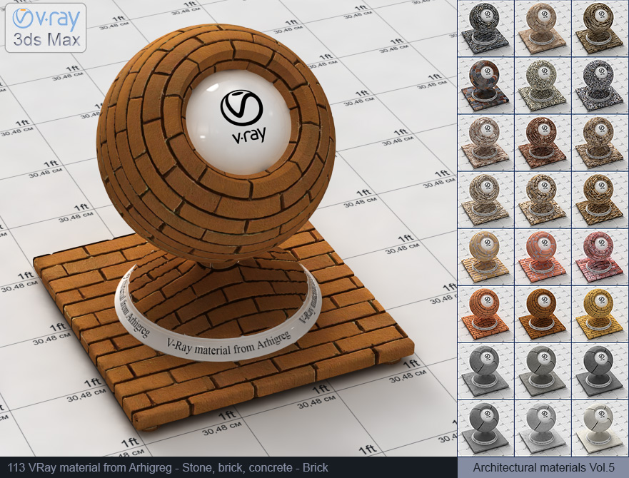 Vray brick material free download (113)