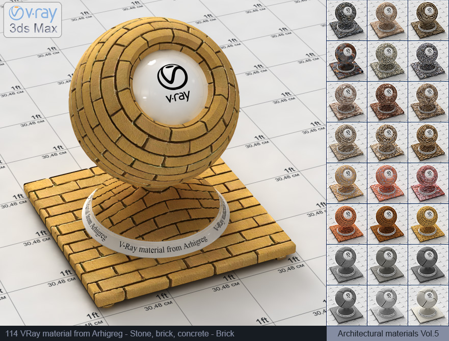 Vray brick material free download (114)
