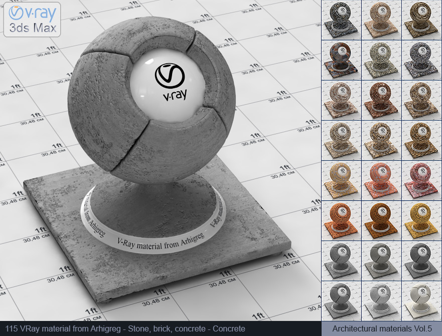 Vray concrete material free download (115)