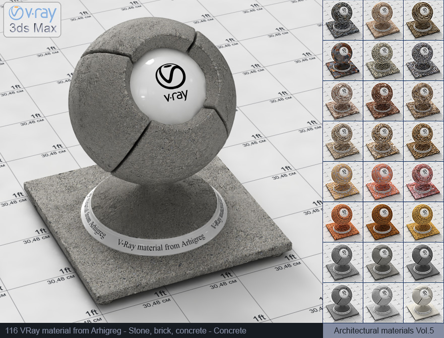 Vray concrete material free download (116)