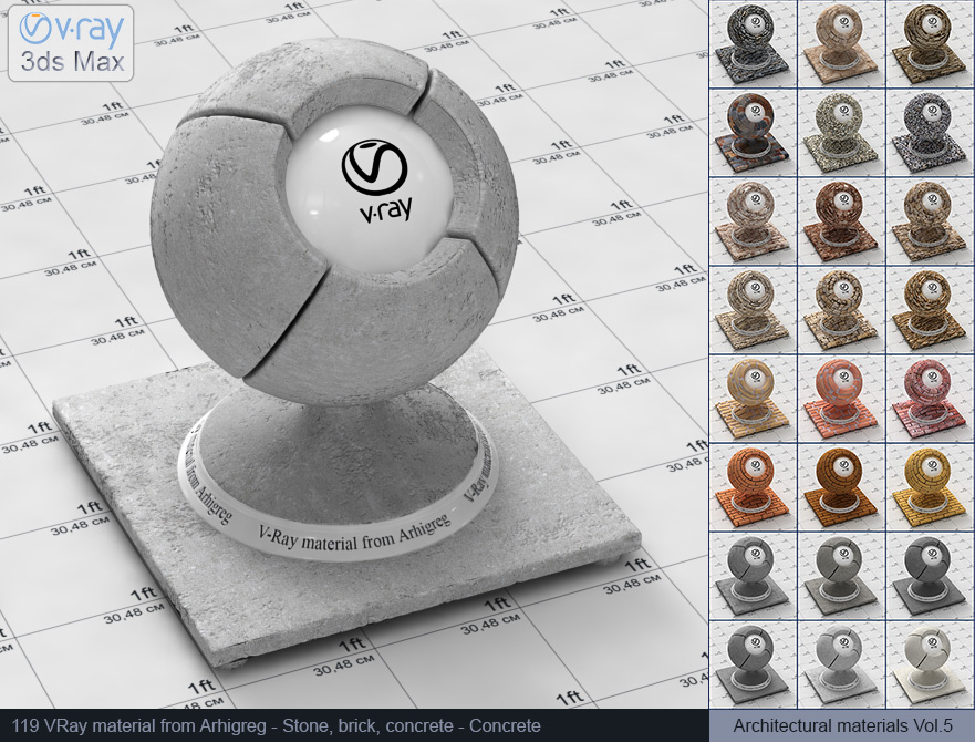 Vray concrete material free download (119)