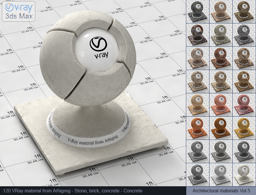 Vray concrete material free download (120)