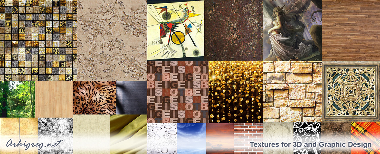 Textures for computer graphics