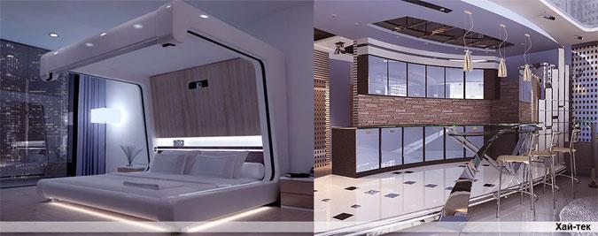 Hi Tech Interior Design Style